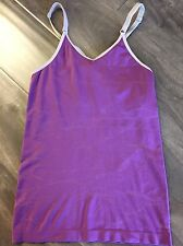 Lululemon Women's Small SZ 2 Purple Racerback Tank Top Vintage Sleeveless