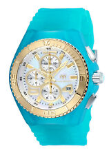 TechnoMarine Women's Cruise TM-115265 40mm MOP Dial Silicone Watch