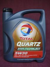5 Ltr. Total Quartz 9000 Future NFC 5w-30 Olio Motore / Ford/volvo/toyota