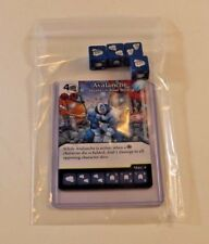 Marvel Dice Masters X-MEN First Class * AVALANCHE * RARE Uncommon Set CUR 4 dice