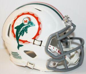 2020 Miami Dolphins Throwback Mini Helmet