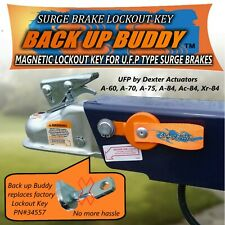 MAGNETIC LOCKOUT KEY FOR UFP TYPE TRAILER SURGE BRAKES      BACK UP BUDDY