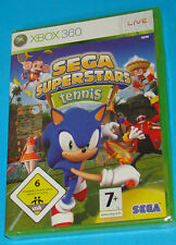 Sega Superstars Tennis - Microsoft XBOX 360 - PAL New Nuovo