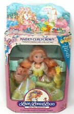Vintage Mattel 1986 Lady Lovely Locks Maiden Curly Crown with Pixie Tails in Box