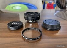 New ListingCanon Ef-S 24mm f/2.8 Stm Lens w Extra Hoya Uv Filter ~ Super Nice