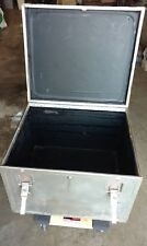 Large Jh Sessions Road Case Gig Stage Pro Flight Trunk Music Gear Wood Metal
