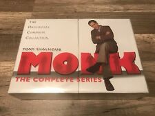 Monk The Complete Series DVD 32-Disc Box Set Limited Edition Brand New free ship
