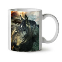 Wild Animal Horse Face NEW White Tea Coffee Mug 11 oz | Wellcoda