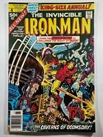 Iron Man Annual #4 Champions Black Widow Ghost Rider 1977 Marvel Comics
