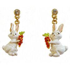 Bunny Hop Post Earrings ~An Adorable Easter Treat~