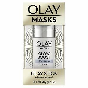Olay Masken Leuchtende Boost Weiß Dunkelgrau Ton Stick