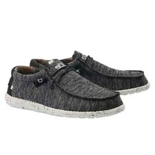 Hey dude Para hombres Zapatos Blanco Negro Wally Sox