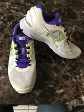 Womens White Bike Lunareclipse 2 Running/Athletic Fit Sole Size 9