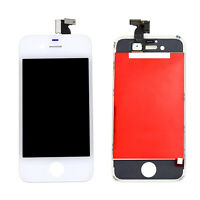 New White Repair Digitizer Touch Screen LCD Display Assembly For iPhone 4 4G GSM