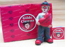 """Gilde Clown  handbemalte Sammlerfigur  """" Herzliche Jungs"""" Herzlichen Dank 35197D"""