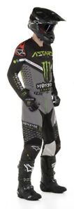 NEW ALPINESTARS 2020 RACER LTD MONSTER ENERGY RAPTOR RACE KIT MX MOTOCROSS SUIT