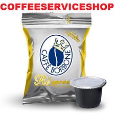 200 Capsule Cialde Caffè Caffe Borbone Respresso Oro Gold compatibili Nespresso