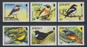 Jersey - 2008, Birdlife, Migrating Birds, 2nd series set - MNH - SG 1400/5