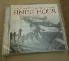 FINEST HOUR AUDIO CD NARRATED BY SIR DEREK JACOBI EVENTS OF 1940