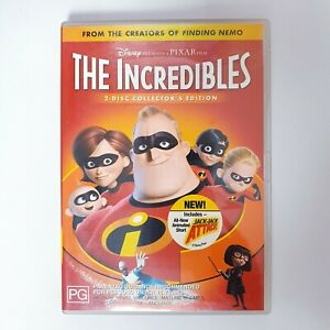 The Incredibles Movie DVD Region 4 PAL Free Postage - Comedy Kids