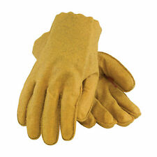 Pip Special Texture Vinyl Yellow Gloves Jersey Lined Qty 12 59-2160/S