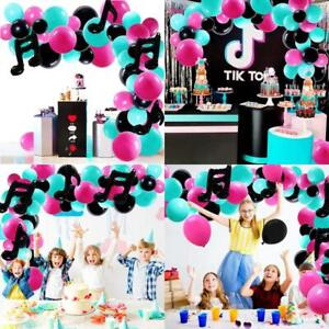 Music Balloons Musical Note Party Supplies Indoor Outdoor Garland Party Decorati