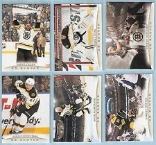 2011-12 Upper Deck UD Canvas Boston Bruins Team Set (10)