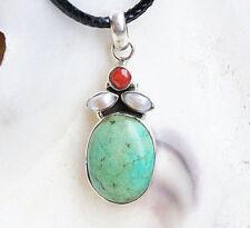 Echtschmuck-Halsketten & -Anhänger mit Perlen-Kreuz-Motiv