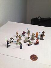 STAR WARS Micro Machines Jedi lot - Yoda - Luke - Obiwan - Mara jade - 17piece