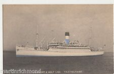 Lamport & Holt T.S.S. Voltaire Shipping Postcard, B570