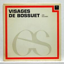 VISAGES DE BOSSUET - GEORGES HACQUART - L'ENCYCLOPÉDIE SONORE LP EX+