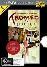 Tromeo And Juliet (DVD, 2005) DIRECTOR'S CUT  GENUINE R4 RARE OOP AS NEW RATED R