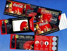 COCA COLA | CardBox con pubblicitari TOCCAMI carta 1997 > raro esemplare pubblicitari in MINT