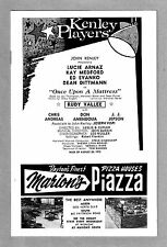 """Lucie Arnaz """"ONCE UPON A MATTRESS"""" Kay Medford / Rudy Vallee '73 Kenley Playbill"""