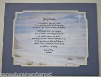 Personalized Poem GIFT for your GODFATHER  The PERFECT Gift for ANY Occasion..