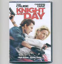 Knight and Day 2010 movie new DVD Tom Cruise Cameron Diaz classic cars airplanes