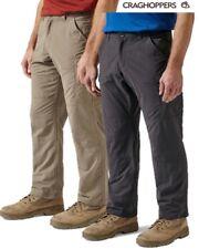 Craghoppers Uomo NosiLife Pantaloni Militari - gamba Regolare Cmj367r 62a038 Pebble 38