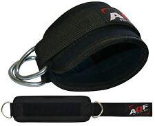 AQF Caviglia TWIN Anello Cinturino Multi Gym Cavo Allegato GAMBA COSCIA puleggia di sollevamento