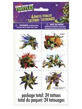Teenage Mutant Ninja Turtles Temporary Tattoos 24 Pack Party Bag Filler BNIP