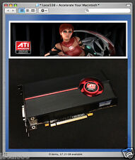 AMD ATi Radeon HD 5770 1GB scheda video grafica per Apple Mac 1,1-5,1 * 10.13 Pro