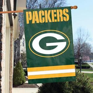 Green Bay Packers NFL - Outdoor Flag - Packers Flag - Applique Flag