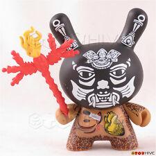 Kidrobot Dunny 2011 Azteca II 2 figure Black Xolotl by Izzie Ramirez Fatal