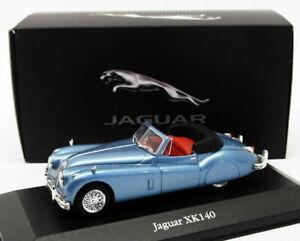 1/43 JAGUAR XK140 XK 140 1957 COCHE DE METAL A ESCALA SCALE CAR DIECAST DIE CAST
