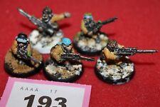 Juegos taller Warhammer 40k Guardia Imperial Ratlings francotiradores escuadrón x5 fuera de imprenta Metal