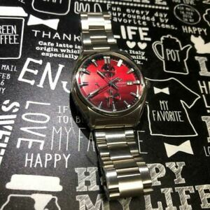 Orient TT10-C0-B CA All Stainless Steel WR Chronograph Wristwatch Made in Japan