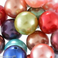 """20PCs Acrylic Spacer Beads Smooth Round Mixed 20mm(6/8"""")Dia."""