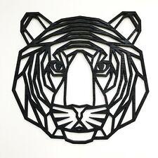 Geometric Tiger Head Wall Art - Home Decor Kids Nursery Bedroom Decoration