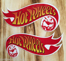 "2 x rythm sticker ""hotwheels Skull"" muscle v8 us Car/motocross pegatinas"