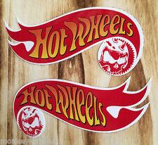 "2 x Oldschool Sticker "" Hotwheels Skull "" Muscle V8 US Car / Motocross Aufkleber"