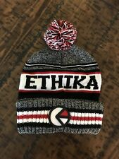Ethika Pom Beanie Rare Limited Edition 100% Authentic